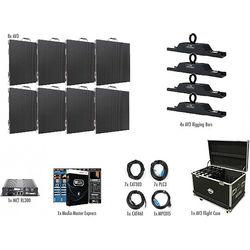 American DJ AV3 4x2 LED Video Wall Kit (8 Panels)