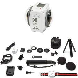 Kodak PIXPRO ORBIT360 4K Action Camera Satellite Pack