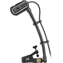 Audio-Technica Wireless Cardioid Condenser Instrument Microphone with Universal Clip-On Mounting System