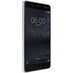 Nokia 6 TA-1025 32GB Smartphone (Unlocked, Silver)