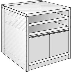 "Just Normlicht System Cabinet 0B 15/4 (19.7 x 27.6"")"