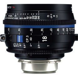 ZEISS CP.3 XD 18mm T2.9 Compact Prime Lens (PL Mount, Feet)
