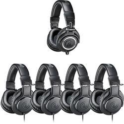 Audio-Technica ATH-PACK5 Monitor Headphones Pack (5 Headphones)