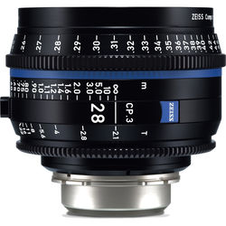 ZEISS CP.3 28mm T2.1 Compact Prime Lens (PL Mount, Feet)