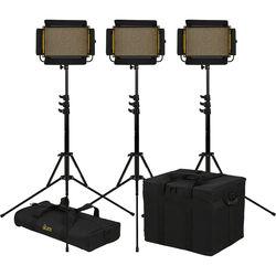 ikan Onyx Half x 1 Bi-Color LED 3-Point LED Light Kit