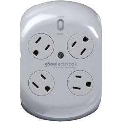 360 Electrical 4-Outlet Surge Protector
