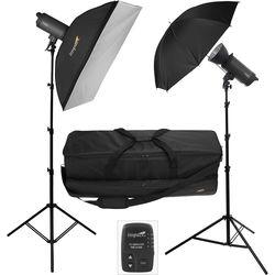 Impact 500Ws 2-Light Wireless Monolight Kit