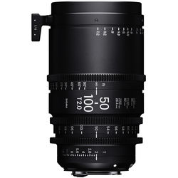 Sigma 50-100mm T2 High-Speed Zoom Lens (Canon EF, Feet)