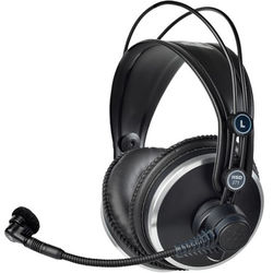 6239ca89076 AKG Professional Headset with Dynamic Microphone & Auto HP Mute