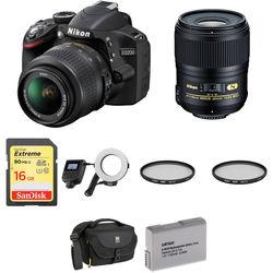 Nikon D3200 DSLR Dental Kit