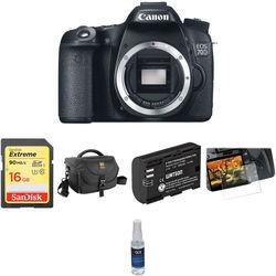 Canon EOS 70D DSLR Camera Basic Kit