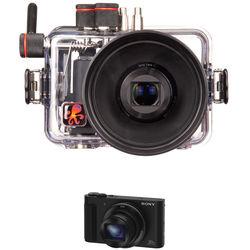 Ikelite Underwater Housing and Sony Cyber-shot DSC-HX90V Digital Camera Kit