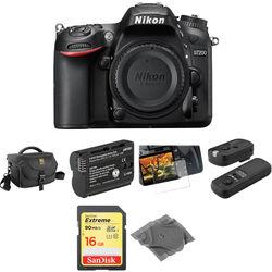 Nikon D7200 DSLR Camera Body Basic Kit