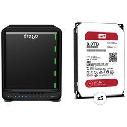 Drobo 5D 40TB 5-Bay Professional Storage Array Kit with Drives (5 x 8TB)