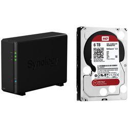 Synology DiskStation 6TB DS116 1-Bay NAS Server Kit (1 x 6TB)
