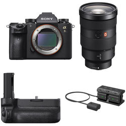 Sony Alpha a9 Mirrorless Digital Camera with 24-70mm f/2.8 Lens & Action Shooting Kit