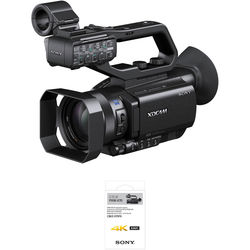 Sony PXW-X70 Professional XDCAM Compact Camcorder with 4K Upgrade License