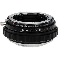 FotodioX Nikon F G-Type Lens to Sony E-Mount DLX Stretch Adapter
