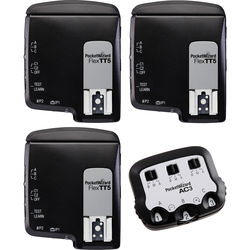 PocketWizard FlexTT5 Transceiver TTL Bonus Bundle for Nikon