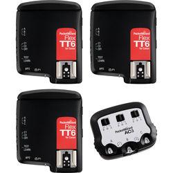 PocketWizard FlexTT6 Transceiver TTL Bonus Bundle for Canon