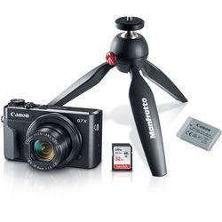 Canon PowerShot G7 X Mark II Digital Camera Video Creator Kit