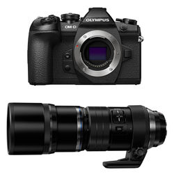 Olympus OM-D E-M1 Mark II Mirrorless Micro Four Thirds Digital Camera with 300mm Lens Kit