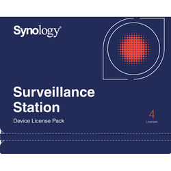 Synology 4-Camera License Key for Synology Surveillance Station
