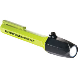 Pelican 1965T Tubed MityLite LED Flashlight with 2 AAA Batteries (Yellow)