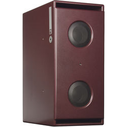 """PSI AUDIO Sub A225-M Dual 10"""" Powered Subwoofer (Red)"""