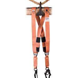 HoldFast Gear MoneyMaker Two-Camera Swagg Harness (Copper, Cotton Canvas)