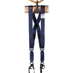HoldFast Gear MoneyMaker Two-Camera Swagg Harness (Navy, Cotton Canvas)