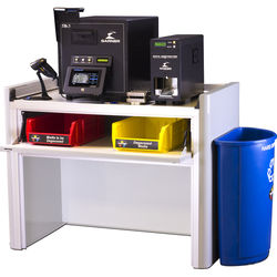 Garner SW-2 Workstation with TS-1 Degausser, IRONCLAD Verification and PD-5 & SSD-1 Destroyers