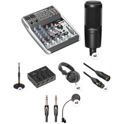 Audio-Technica Two Person Podcasting Package