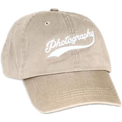 TogTees Photography Dad Hat (Off-White, One Size)