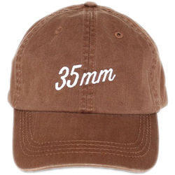 TogTees 35mm Dad Hat (Sepia, One Size)
