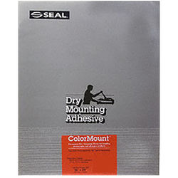 """D&K Colormount Dry Mounting Tissue - 11 x 14"""" - 100 Sheets"""