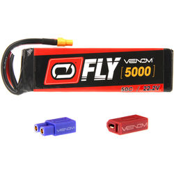 Venom Group Fly 50C 6S 5000mAh LiPo Battery with UNI 2.0 Connector (22.2V)