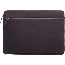 "Cecilia Gallery Waxed Cotton Sleeve for 15"" MacBook Pro (Espresso)"