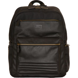 Jill-E Designs JACK Smart Laptop Backpack (Black)