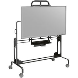 "Bretford EXPLORE Interactive Media Station for 70"" Flat Panel Displays (Black)"