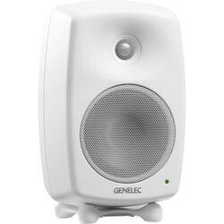 "Genelec 8030C 5"" 2-Way 100W Active Studio Monitor (Single, White)"