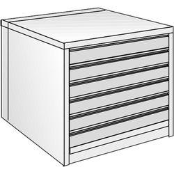 "Just Normlicht System Cabinet 0B 12/9 (19.7 x 27.6"")"