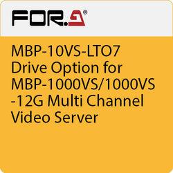 For.A MBP-10VS-LTO7 Drive Option for MBP-1000VS/1000VS-12G Multi Channel Video Server