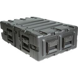 """SKB Transport Case for 3 RU 24"""" Deep Static Shock Rack"""