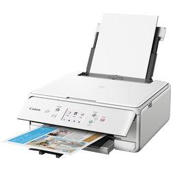 Canon PIXMA TS6120 Wireless All-in-One Inkjet Printer (White)
