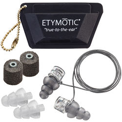Etymotic Research ER20XS Universal Fit High-Fidelity Earplugs (Clamshell Packaging)