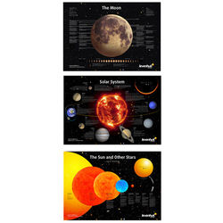 Levenhuk 3-Piece Space Posters Set