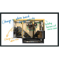 "Panasonic 75"" UHD Direct-LED LCD Touchscreen Display"