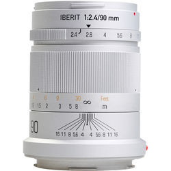 Handevision IBERIT 90mm f/2.4 Lens for Leica L (Silver)