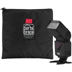 Porta Brace Nylon Accessory Stuff Sack for Bolt VD-410 Flash (Black)